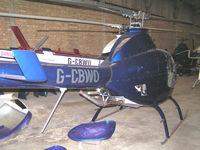 G-CBWO - At Street Farm near Stansted - by Andy Parsons