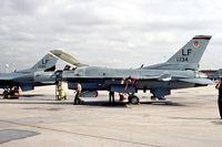 83-1134 @ KLUF - flightline scene at Luke AFB - by FBE