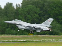 4055 @ EBFS - General Dynamics F-16C Fighting Falcon 4055 Polish Air Force - by Alex Smit