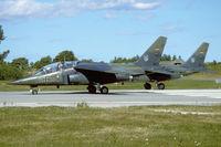 41 66 @ EKYT - Luftwaffe Dornier Alpha Jet at Aalborg