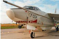 146454 @ EGVA - EA-3B Skywarrior of VQ-2 at the 1991 Intnl Air Tattoo at RAF Fairford. - by Peter Nicholson