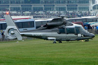 G-LCPL - One of the helicopters at Epsom on 2009 Derby Day