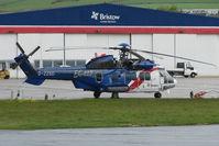 G-ZZSD @ EGPD - Bristows Eurocopter EC225LP at Aberdeen