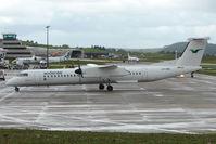 LN-WDW @ EGPD - Wideroe Dash 8 at Aberdeen