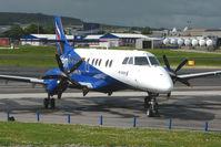 G-MAJP @ EGPD - Eastern Jetsream 4100  at Aberdeen