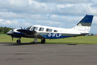 G-IFLP @ EGPT - Piper PA-34-200T at Perth Airport in Scotland