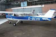 G-BCVH @ EGPT - Cessna FRA150L at Perth Airport in Scotland
