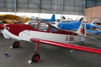 G-BBKL @ EGPT - Piel CP301A at Perth Airport in Scotland