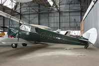 G-ADLY @ EGPT - 1935 Hornet Moth at Perth Airport in Scotland