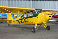 G-BTSR @ EGPT - 1946 Aeronca 11AC at Perth Airport in Scotland