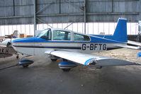 G-BFTG @ EGPT - Grumman AA-5B at Perth