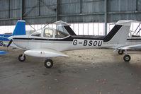 G-BSOU @ EGPT - Piper Tomahawk at Perth Airport in Scotland