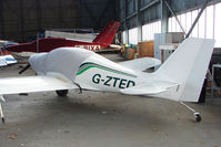G-ZTED @ EGPT - Europa at Perth Airport in Scotland