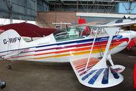G-RIFY @ EGPT - Aerobatic aircraft at Perth