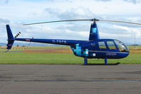 G-TBTB @ EGPT - Robinson  R44 at Perth