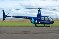 G-TBTB @ EGPT - Robinson  R44 at Perth