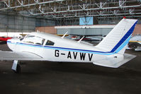 G-AVWV @ EGPT - Piper PA-28R-180 at Perth Airport in Scotland