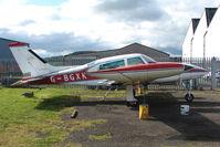 G-BGXK @ EGPT - Withdrawn Cessna 310R at Perth