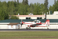 C-GEDR @ CYZH - Slave Lake Fire Base - by William Heather