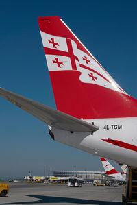 4L-TGM @ VIE - Air Zena Boeing 737-700