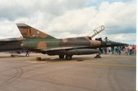 BD03 @ EGVA - Mirage 5BD of 8 Wing of the Belgian Air Force at the 1991 Intnl Air Tattoo at RAF Fairford. - by Peter Nicholson