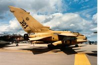 MM7080 @ EGVA - Tornado IDS of 50 Stormo Italian Air Force at the 1991 Intnl Air Tattoo at RAF Fairford. - by Peter Nicholson