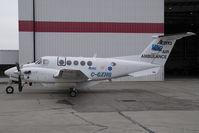 C-GXHG @ CYYC - Alberta Air Ambulance Beech 200 King Air - by Yakfreak - VAP