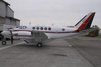 C-GHOC @ CYYC - Kenn Borek Air Beech 100 - by Yakfreak - VAP