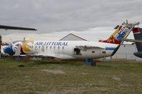 F-GPTK @ CYYC - ex Air Littoral Regionaljet - by Yakfreak - VAP