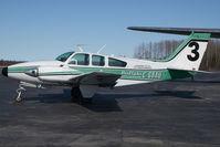 C-GBAU @ CYHY - Buffalo Airways Beech 55 - by Yakfreak - VAP