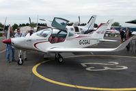 G-CGAJ @ EGTB - exhibited at 2009 AeroExpo at Wycombe Air Park