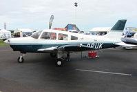 G-OPUK @ EGTB - exhibited at 2009 AeroExpo at Wycombe Air Park