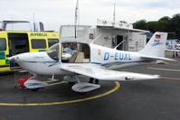D-EUXL @ EGTB - exhibited at 2009 AeroExpo at Wycombe Air Park