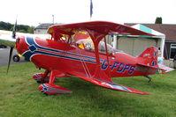 G-FDPS @ EGTB - Aviat Pitts exhibited at 2009 AeroExpo at Wycombe Air Park