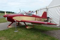 G-TJDM @ EGTB - RV-6A exhibited at 2009 AeroExpo at Wycombe Air Park