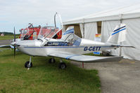G-CETT @ EGTB - exhibited at 2009 AeroExpo at Wycombe Air Park