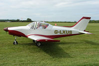 G-LXUS @ EGTB - Visitor to 2009 AeroExpo at Wycombe Air Park