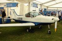 G-EKIM @ EGTB - Pioneer 300 exhibited at 2009 AeroExpo at Wycombe Air Park