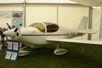 G-TSUE @ EGTB - exhibited at 2009 AeroExpo at Wycombe Air Park