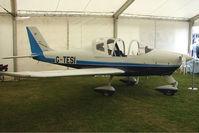 G-TESI @ EGTB - exhibited at 2009 AeroExpo at Wycombe Air Park