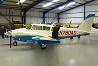 N780AC @ EGTB - Piper PA-30 with numerals arranged to say BOAC