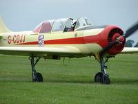 G-CDJJ @ EGTB - Yak 52 Visitor to 2009 AeroExpo at Wycombe Air Park