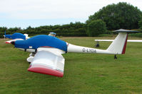 G-LYDA @ EGTB - Resident Glider at Booker