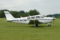 G-AVCM @ EGTB - Visitor to 2009 AeroExpo at Wycombe Air Park