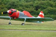 G-GYAK @ EGTB - Yak 50 Visitor to 2009 AeroExpo at Wycombe Air Park