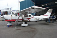 N52273 @ EGTB - Cessna Stationair exhibited at 2009 AeroExpo at Wycombe Air Park