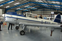 G-BXGL @ EGTB - DHC-1 Chipmunk exhibited at 2009 AeroExpo at Wycombe Air Park