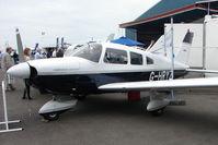 G-HRYZ @ EGTB - exhibited at 2009 AeroExpo at Wycombe Air Park