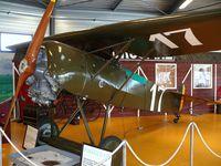 N111EV @ EBAW - Fokker DVIII N111EV Stampe & Vertongen Museum painted as Belgian Air Force 17 - by Alex Smit