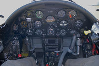 OE-EAS @ LOXN - Cockpit of this classic warbird - by P. Radosta - www.austrianwings.info
